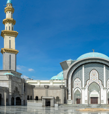 Clock system for Malaysian mosques